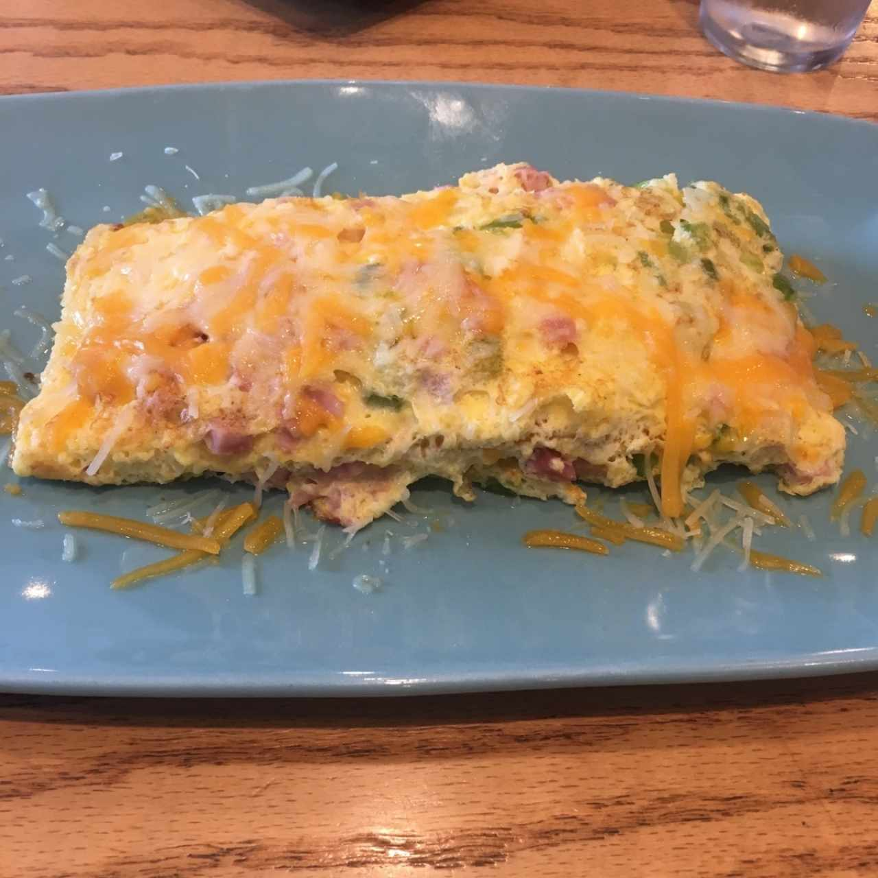 Omellete Cheesy Western