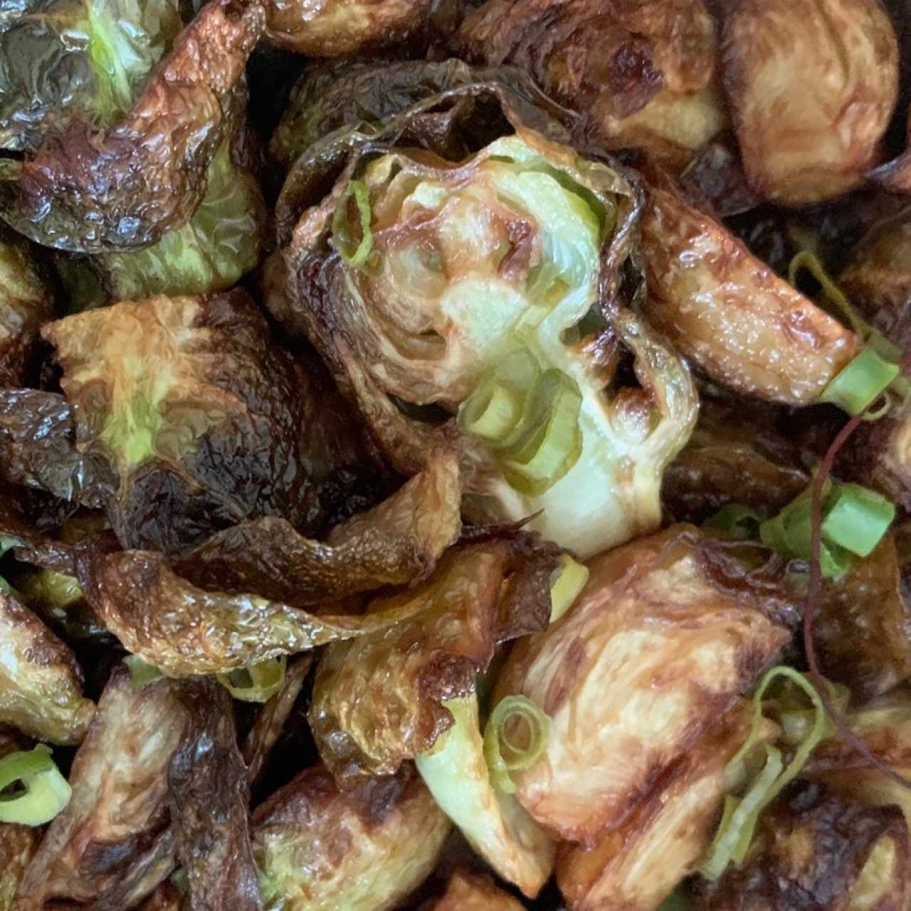 HOT - CRISPY BRUSSELS SPROUTS