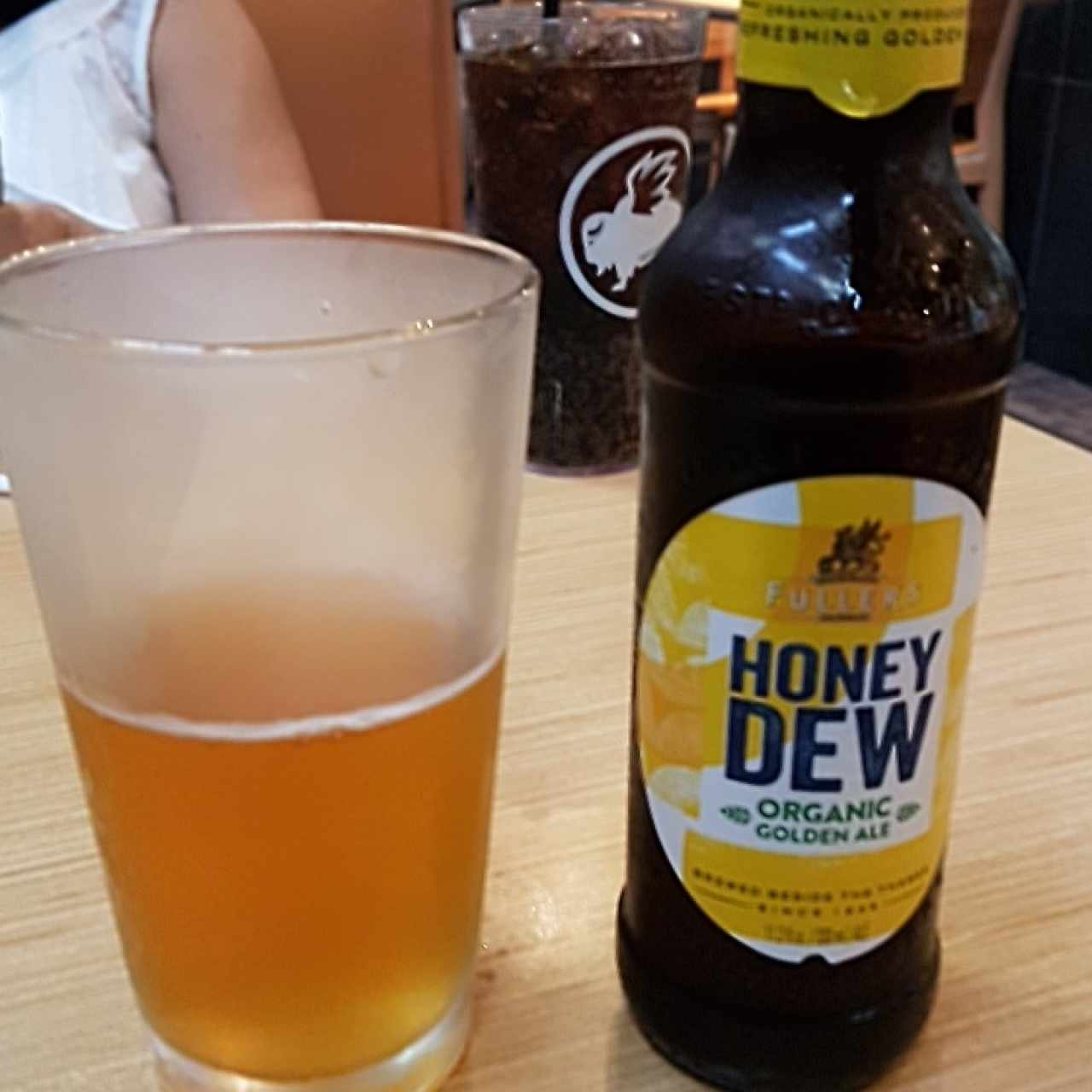 Honey Dew Organic Golden Ale