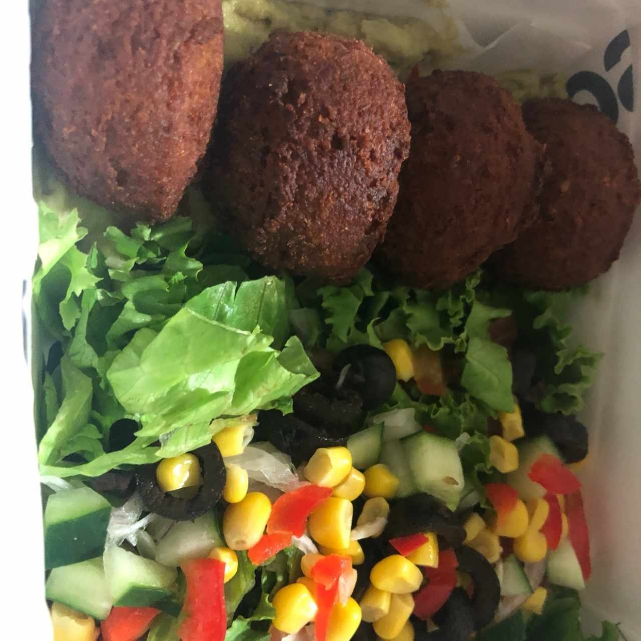 Box lunch Falafel