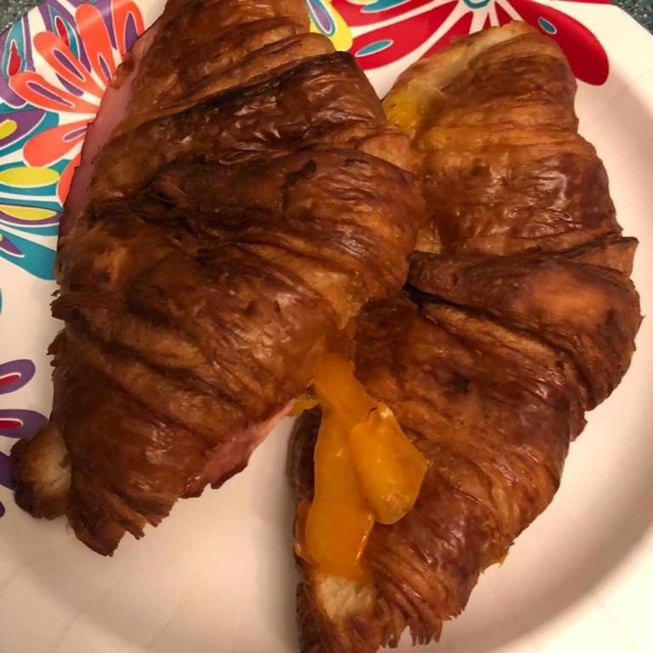 Double Cheese Croissant