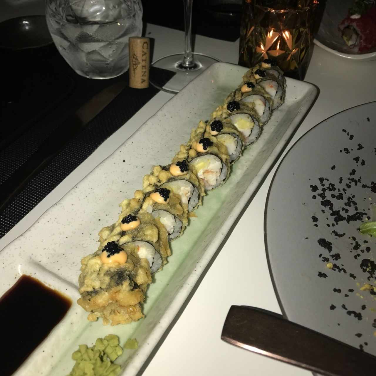 tempura white tuna roll
