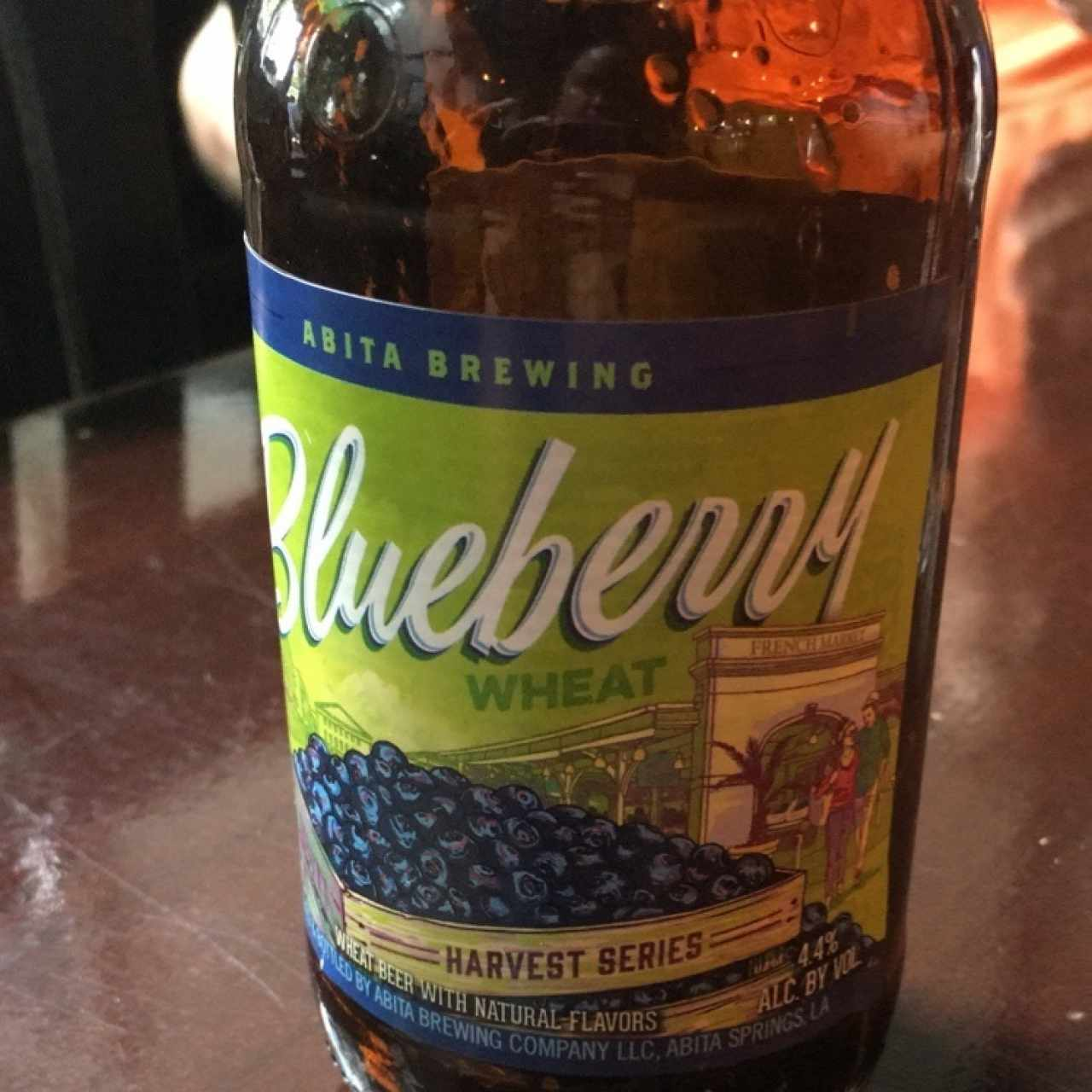 Blueberry beer de Abita