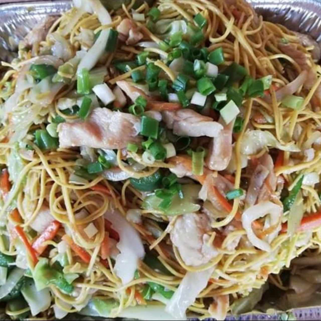 CHOW MEIN PUERCO