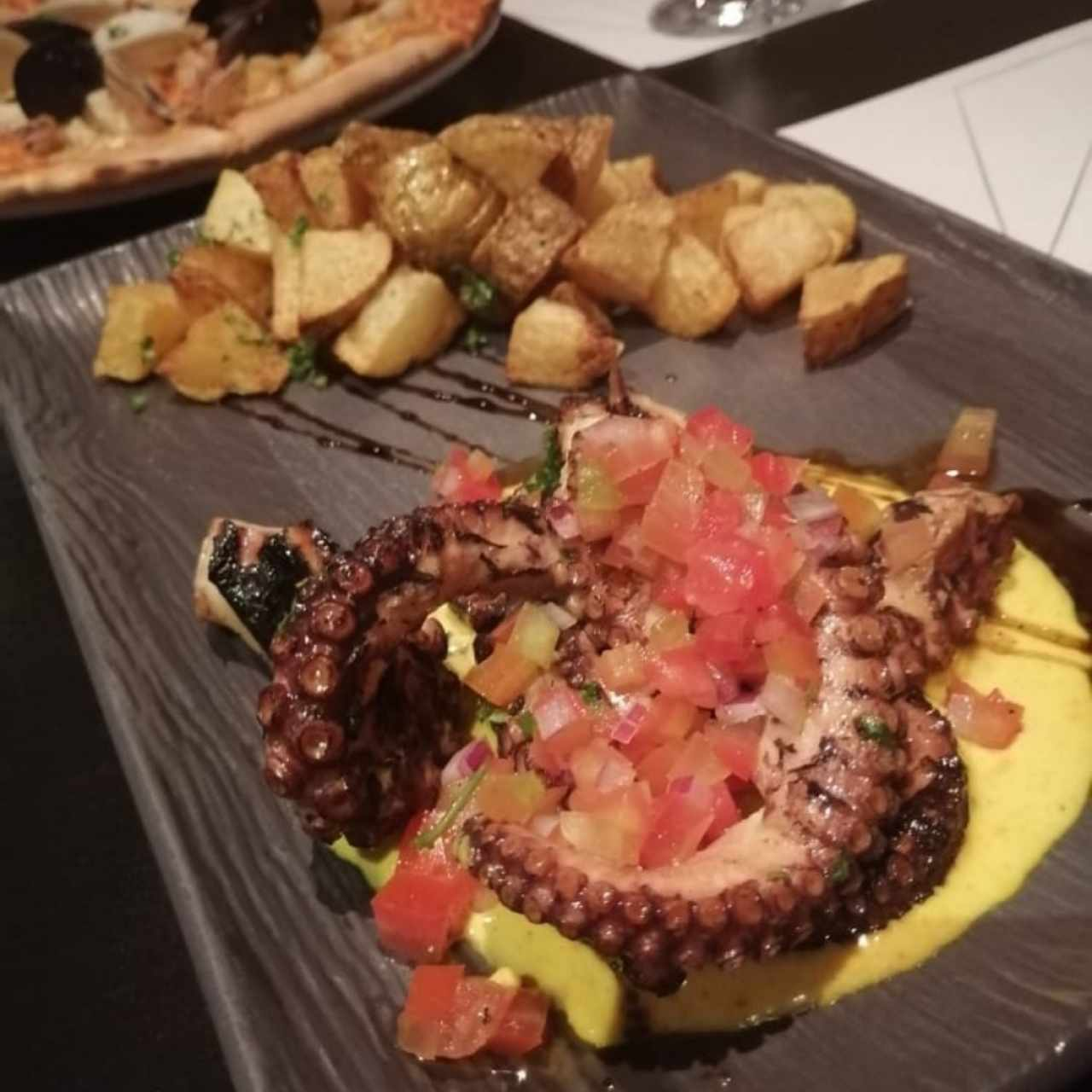 Pulpo al Grill Assisi