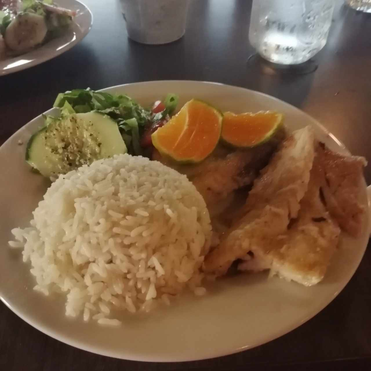 filete de corvina a la plancha