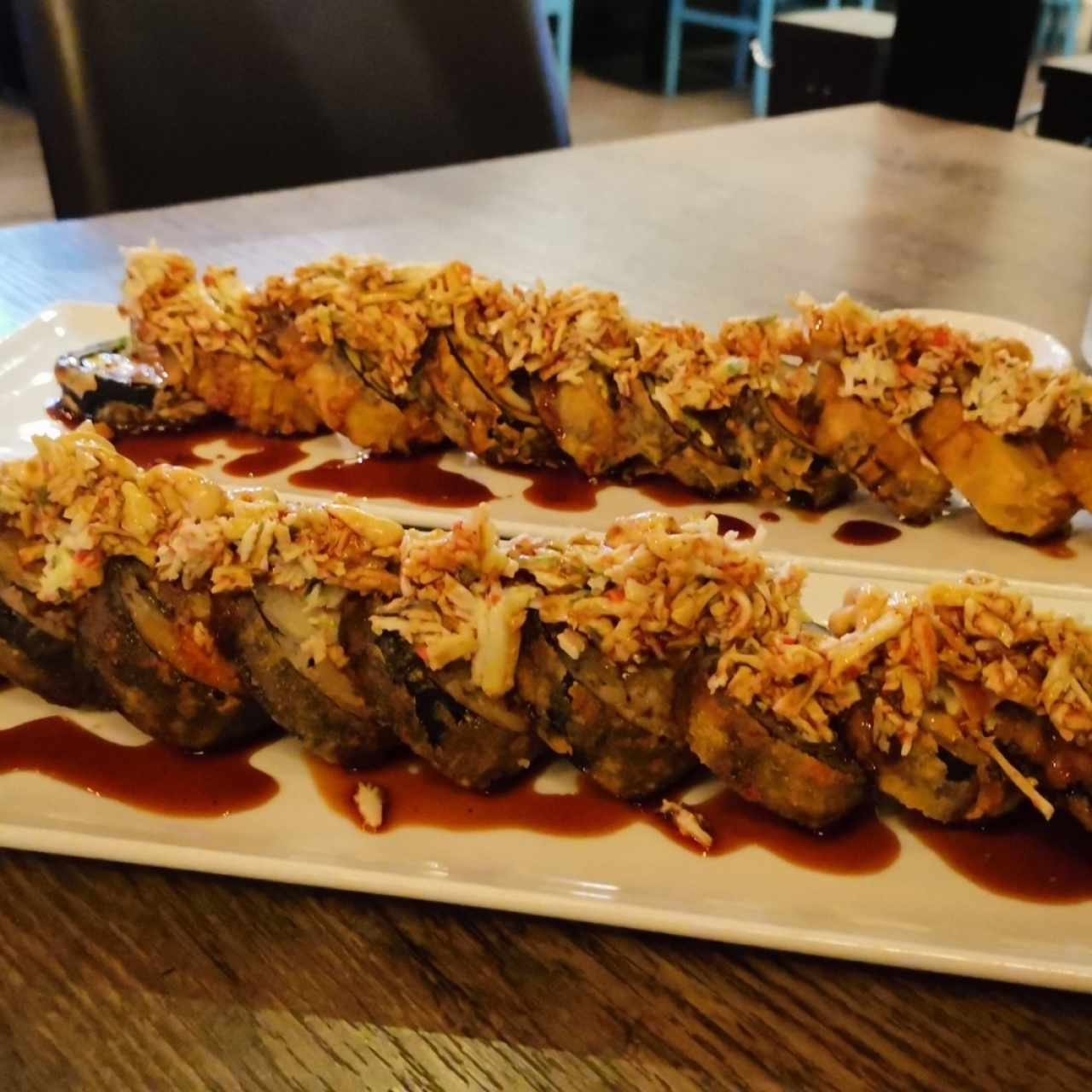Dragon Roll y Tropical Roll