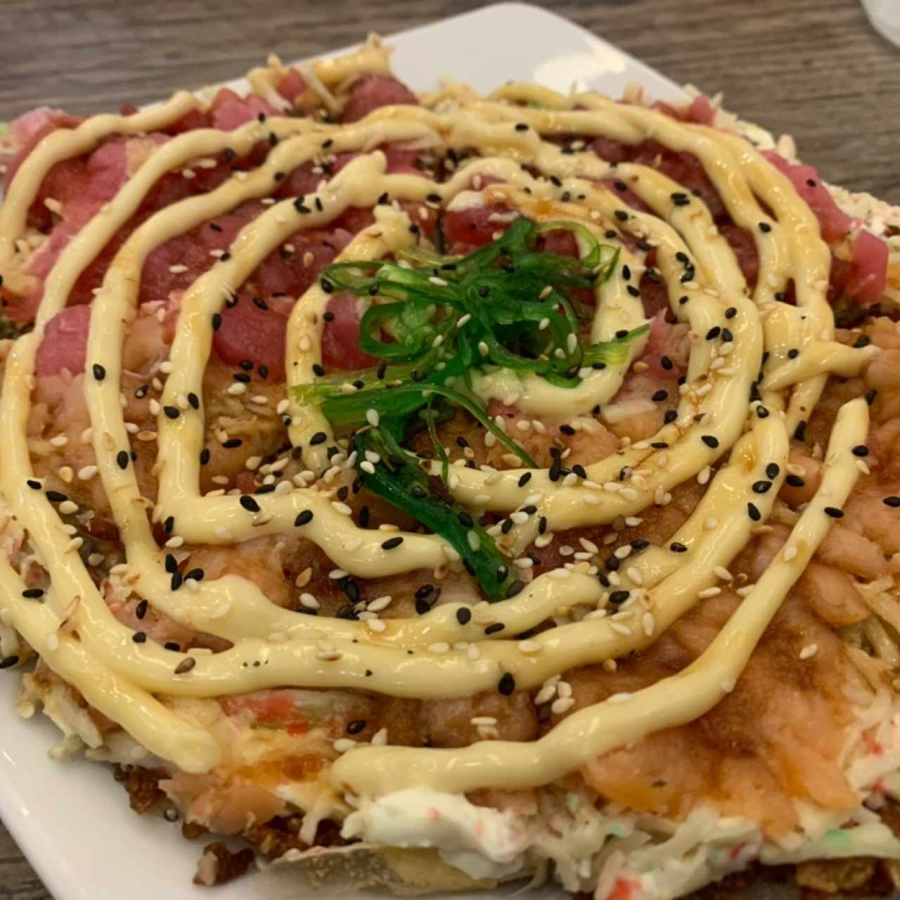 Mix Sushi Pizza