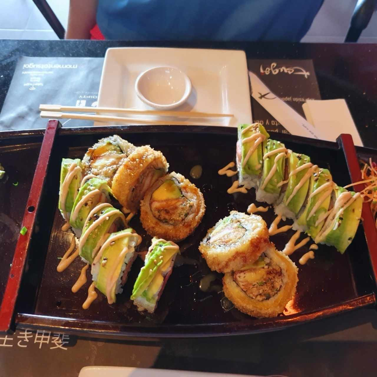 Dragon Roll y Canalero Roll