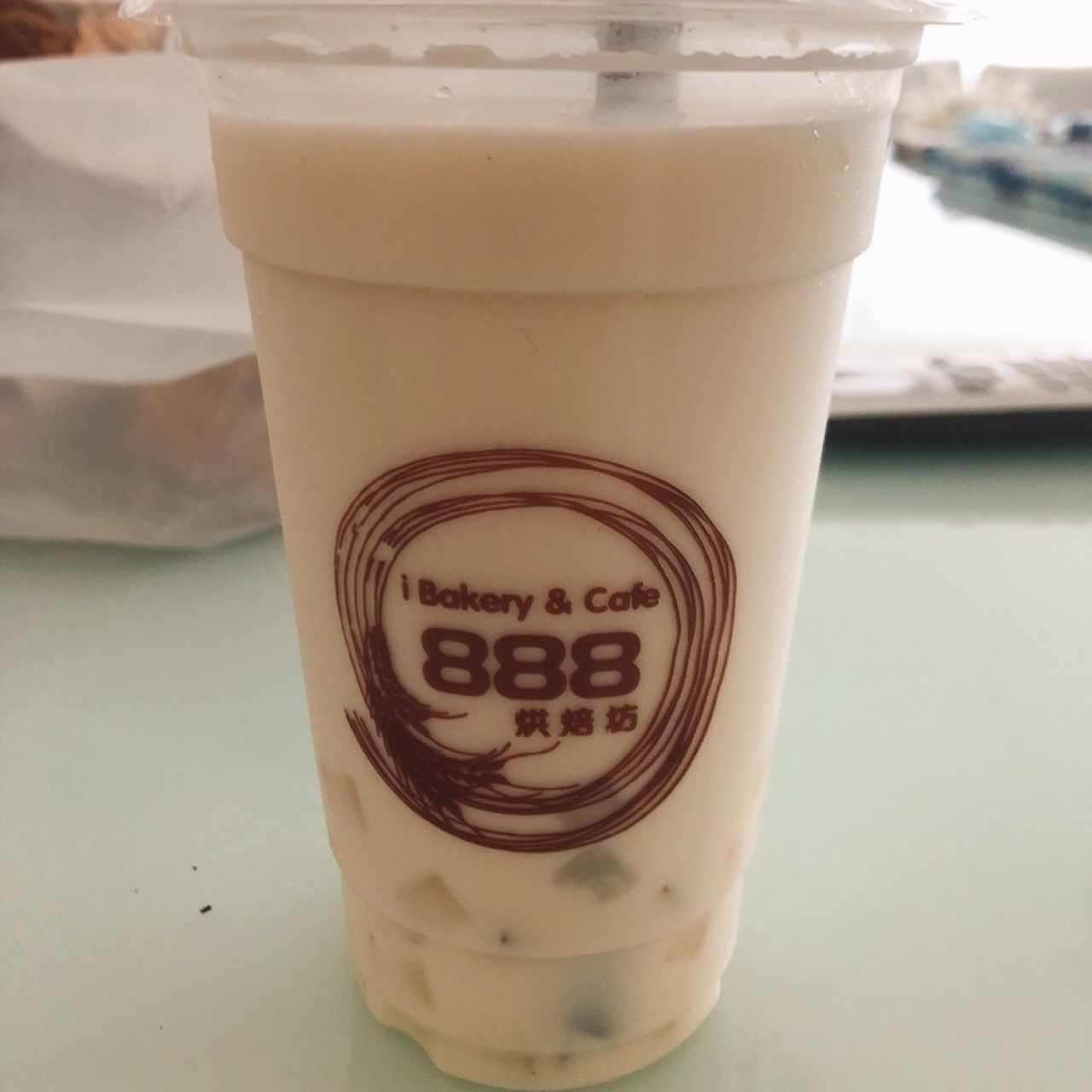 Bubble Tea de Almendra con Jelly coco