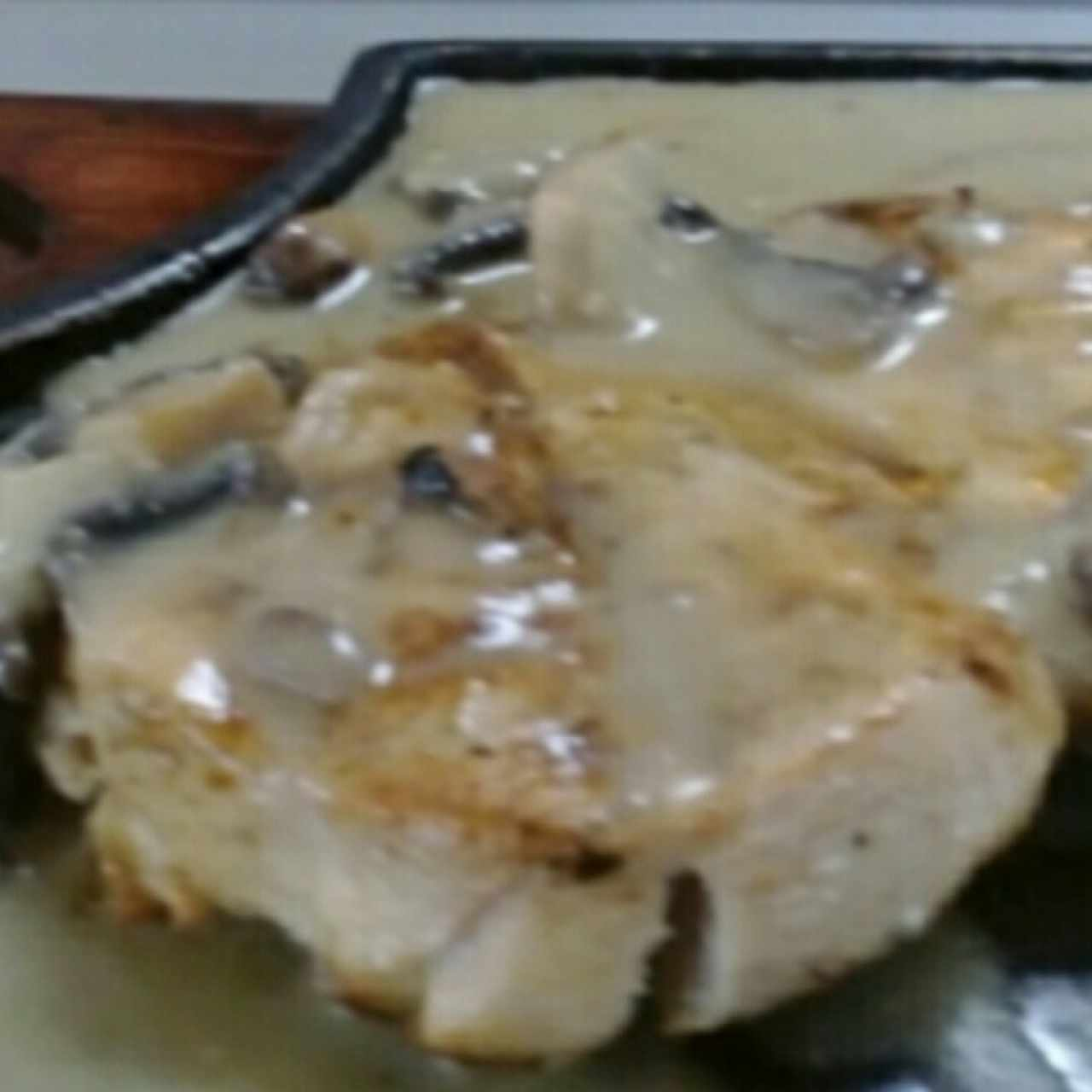 pollo con MushRooms