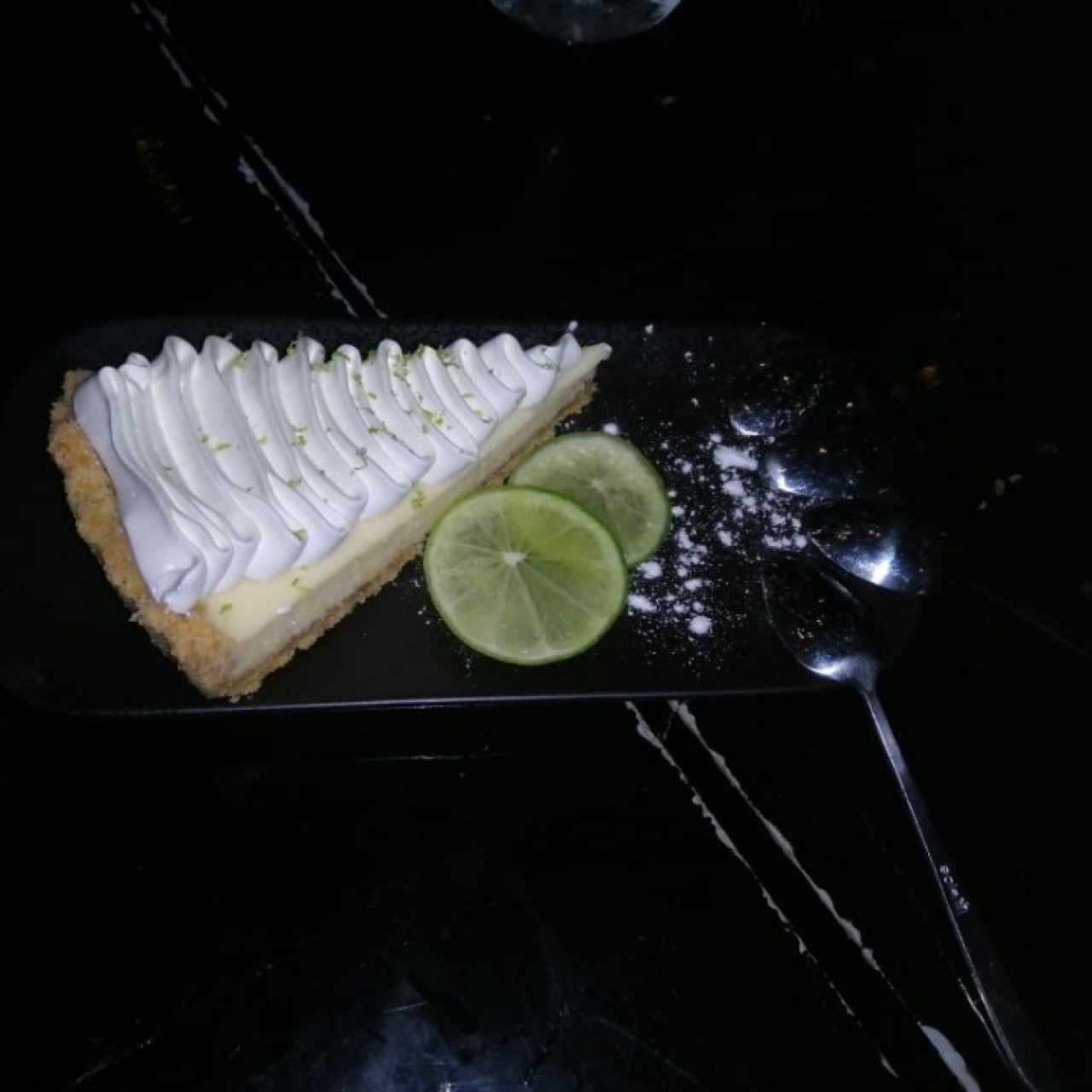 pie de limon(key lime pie)