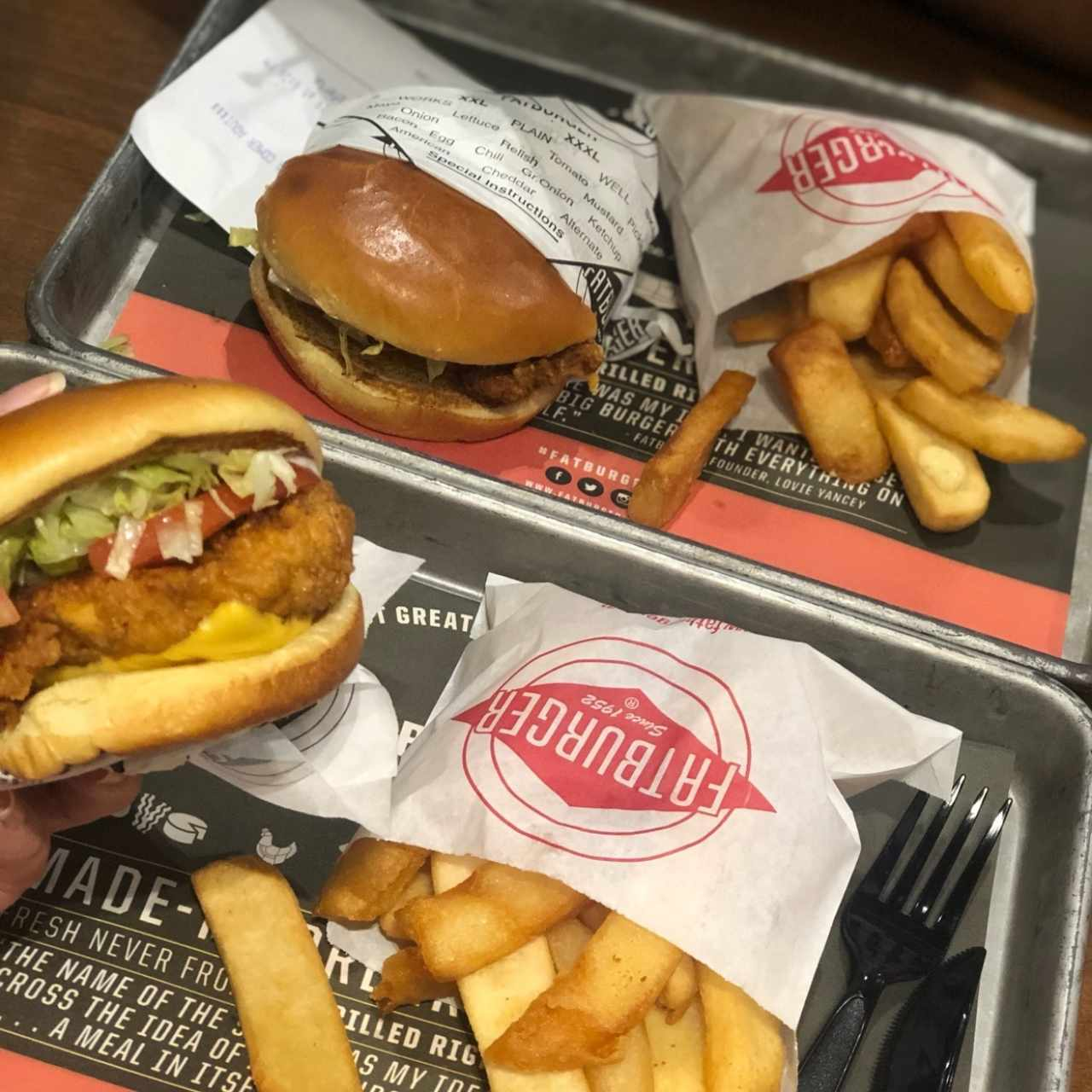 The Fatburger - Chicken Sándwich