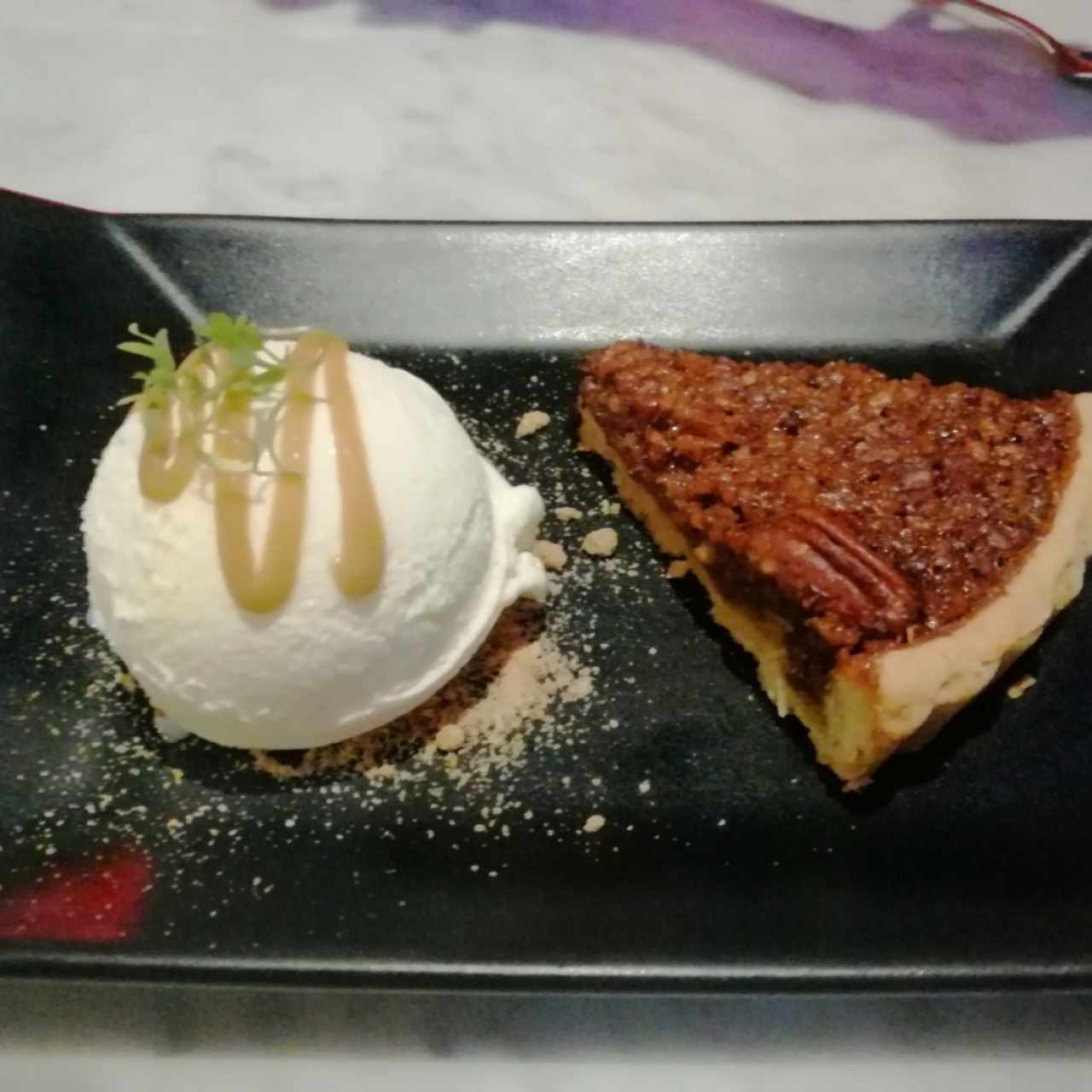 Pecan Pie & Ice Cream