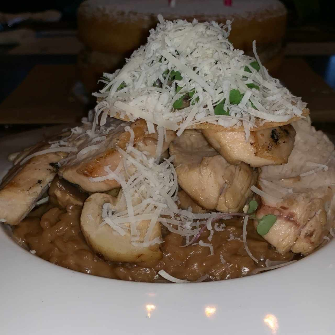 BUNAPI MUSHROOMS RISOTTO