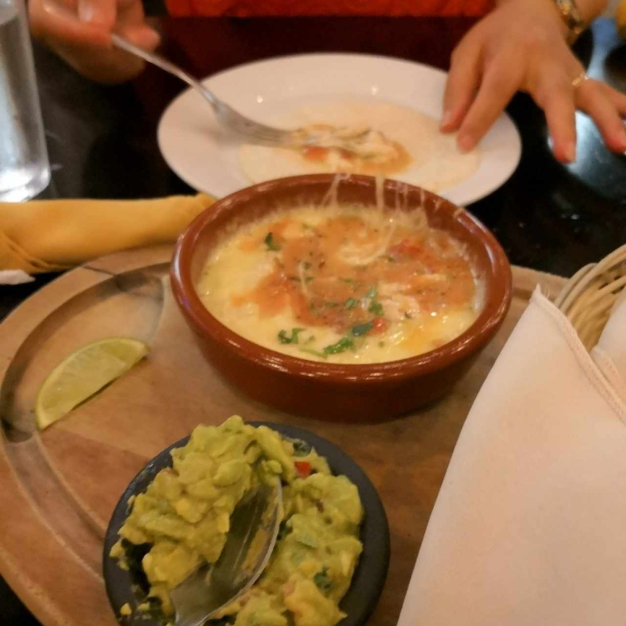 queso fundido Agave