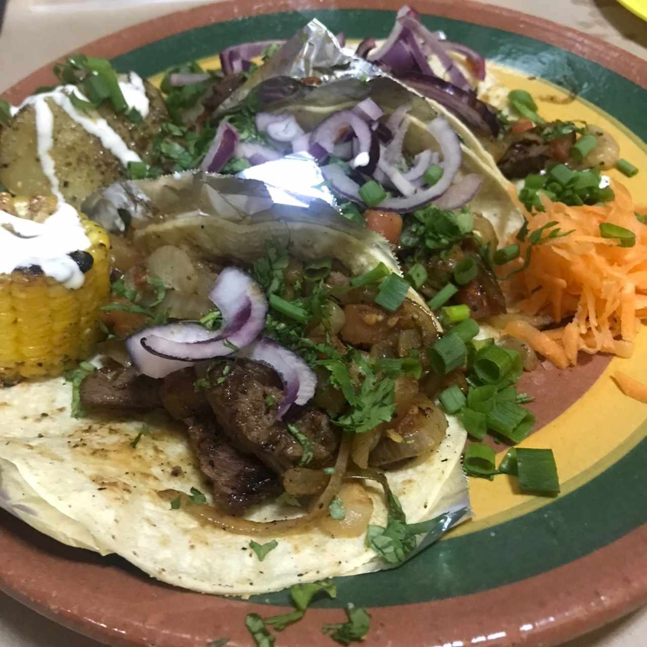 tacos de Filete de res