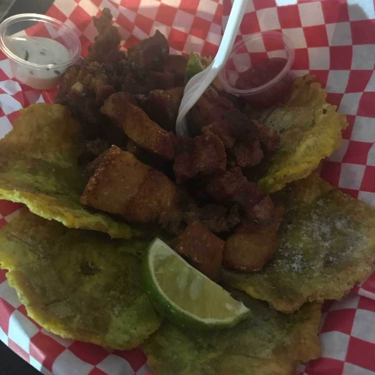 chicharron + patacon