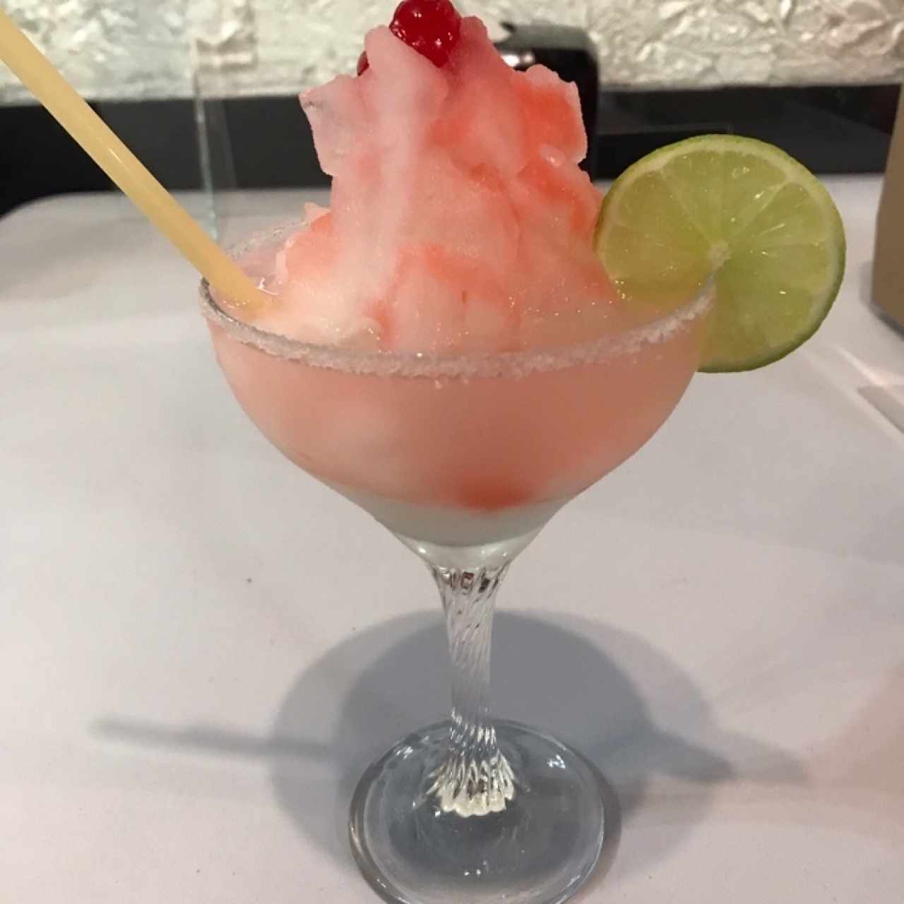 Frozen Margarita de limon