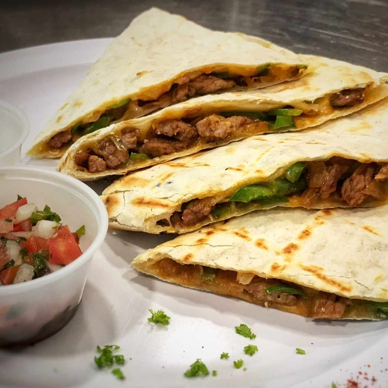 Quesadillas de carne