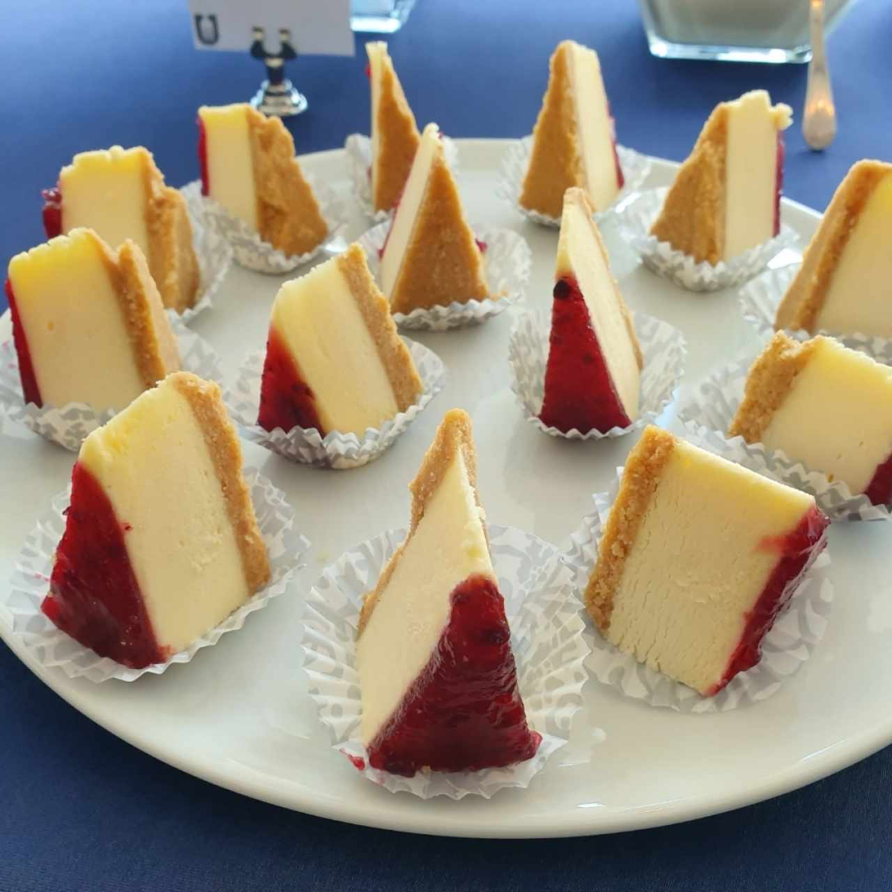 Boquitas dulces - Mini cheesecake