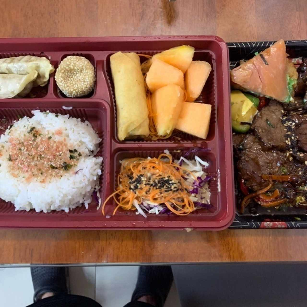 Korean Beef Set Bento Box