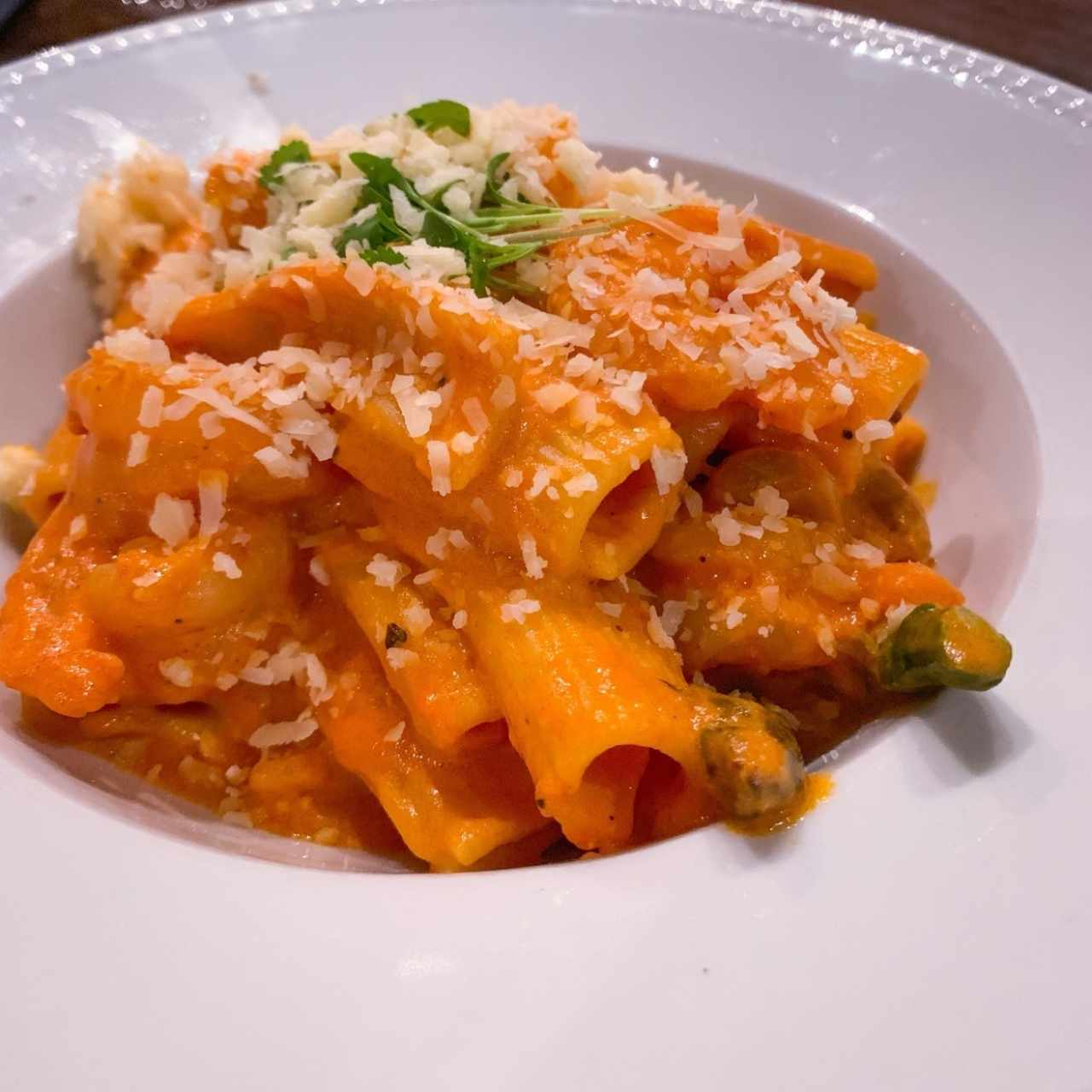 Rigatoni a la Vodka