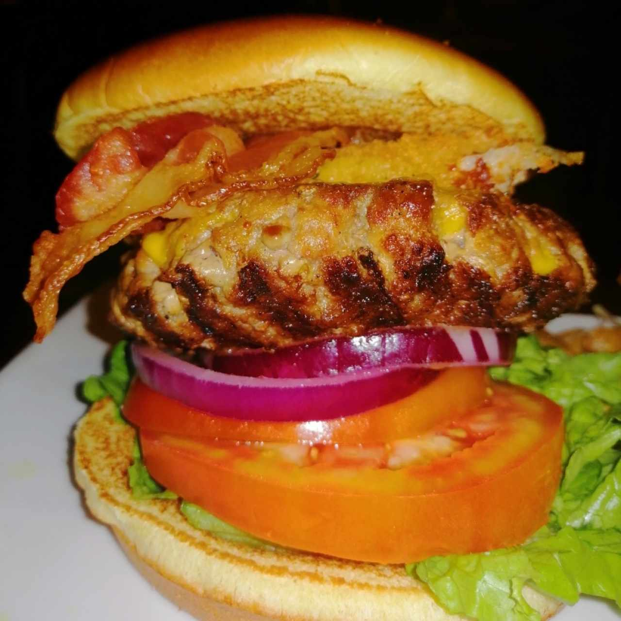 bacon chesee burger