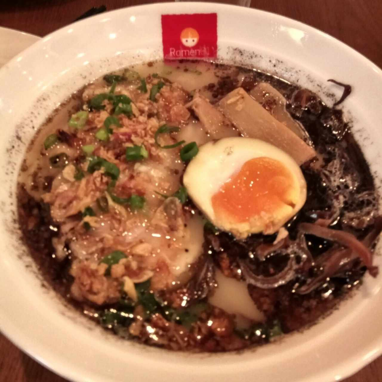 Black Garlic Ramen