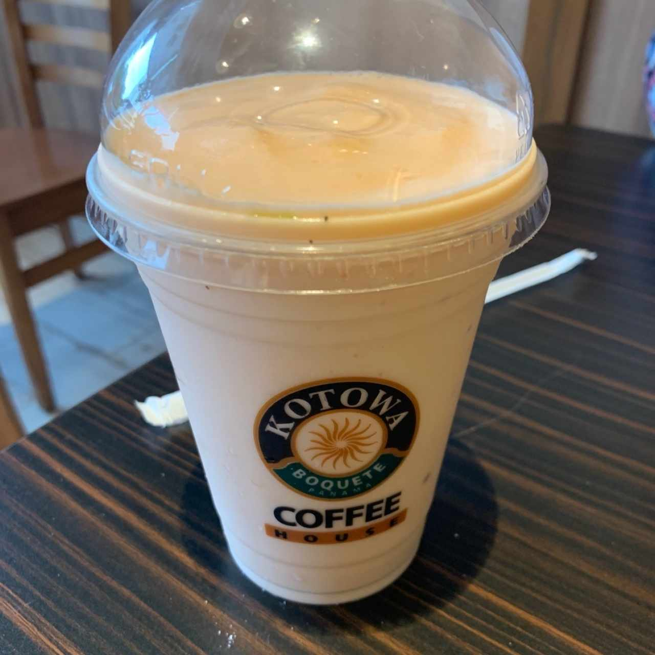 Frappé Peach Cream