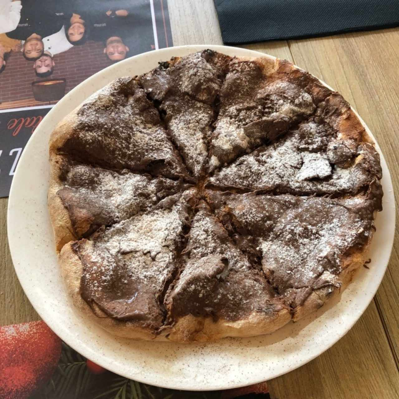 Pizza Nutellina
