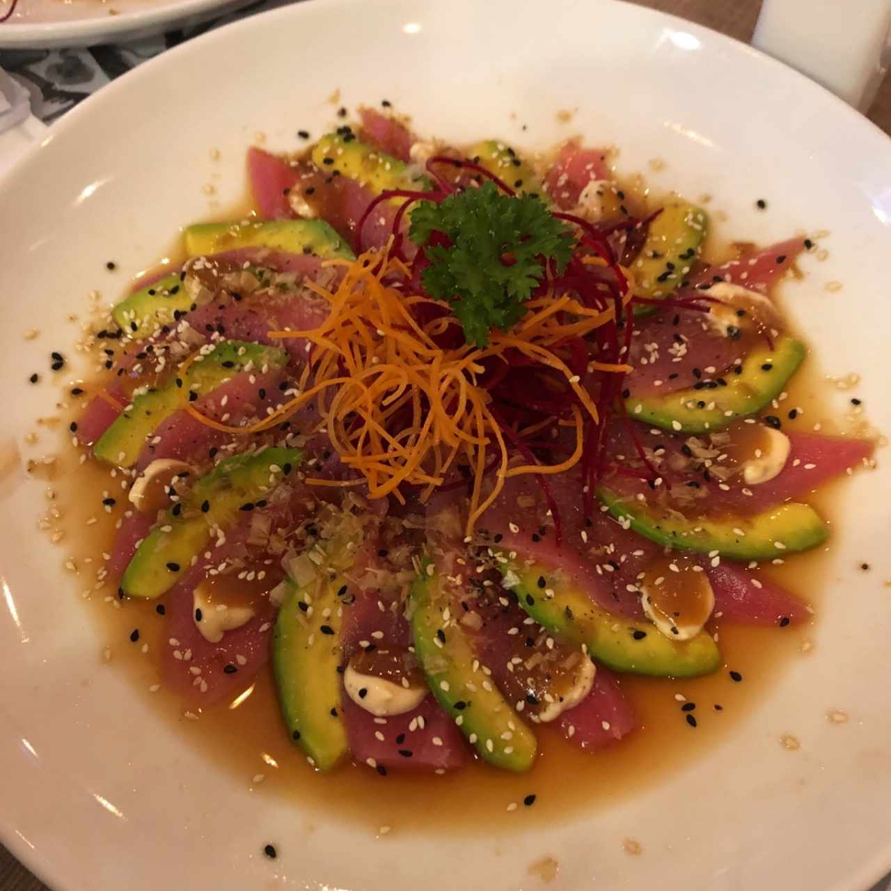 Entradas/Carpaccio - Maguro Cocktail