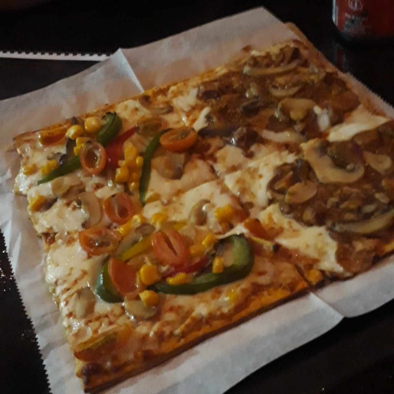 Pizza pollo
