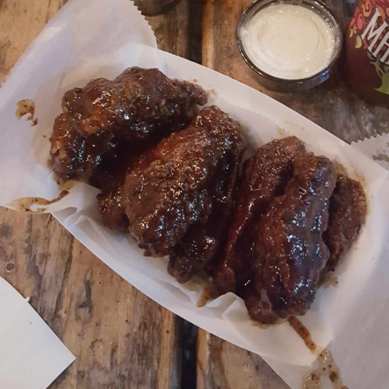 hot coffee bbq wings