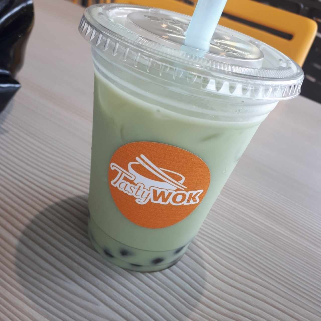 bubble tea, matcha tapioca