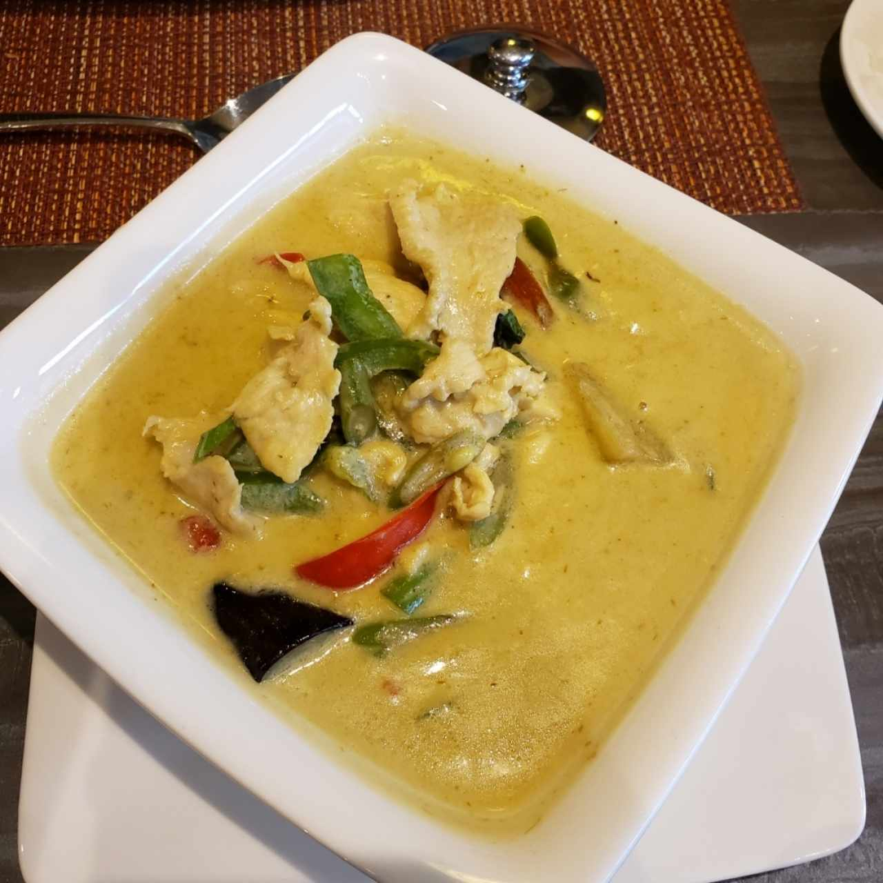 CURRY - GREEN CURRY WITH CHICKEN