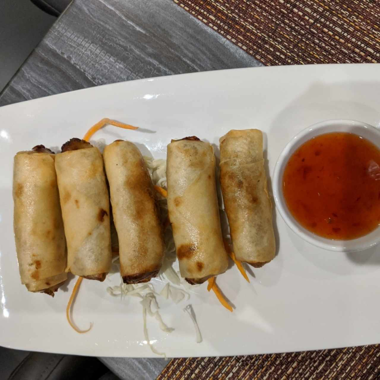 THAI FRIED SPRING ROLLS