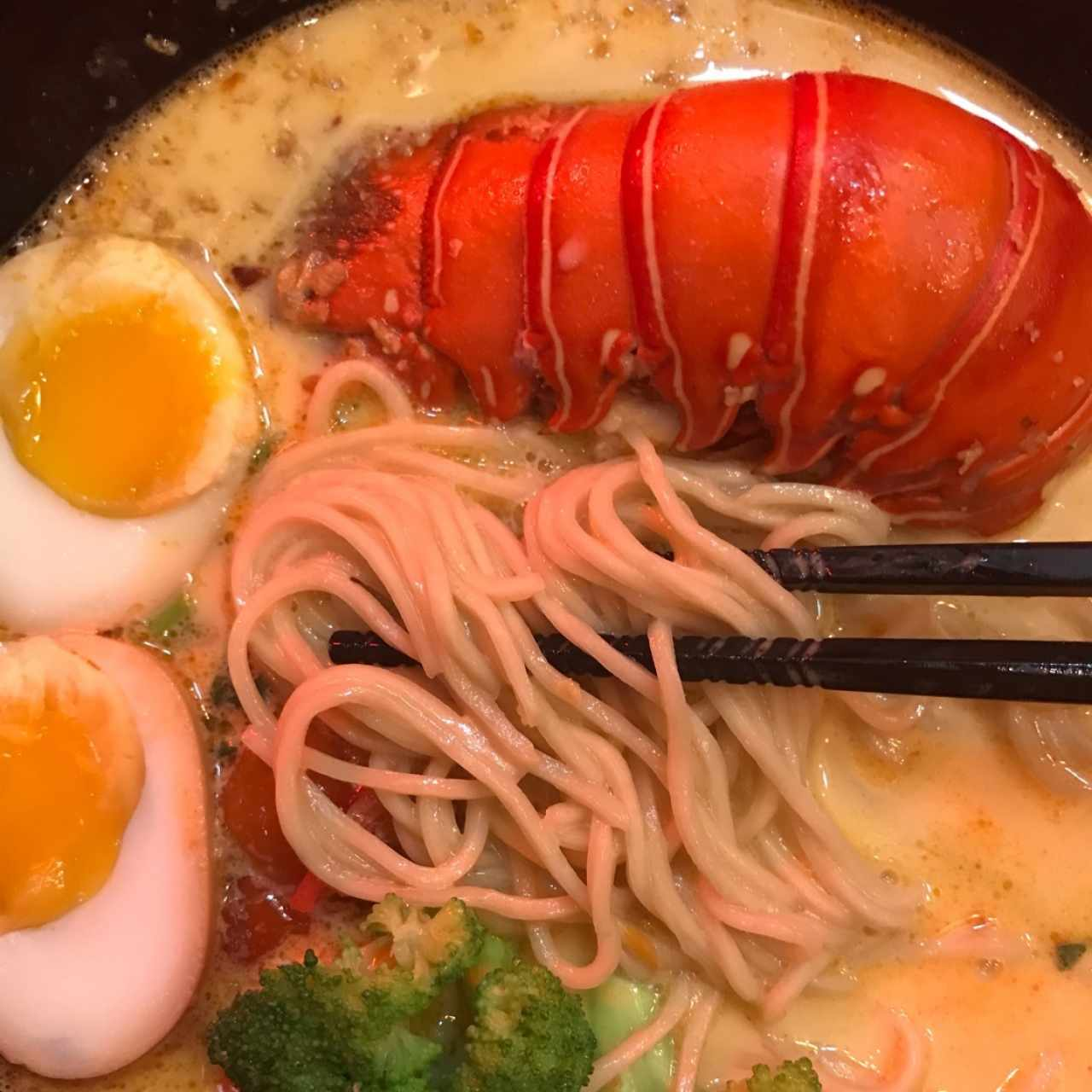 Cheesy Lobster Ramen