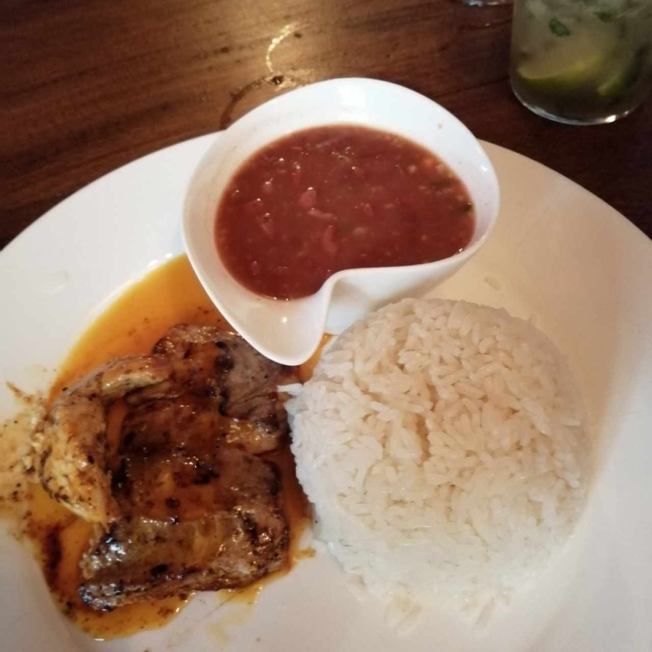 filete a la maracuya