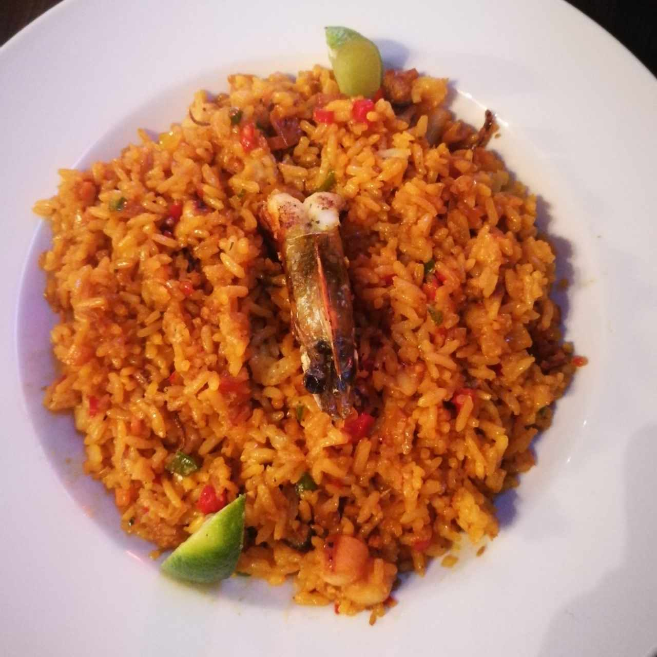 paella red ocean