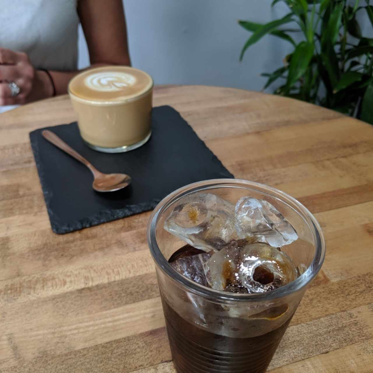 Flat White & Cold Brew... Fantastic! Best coffee we have ever tried in our life