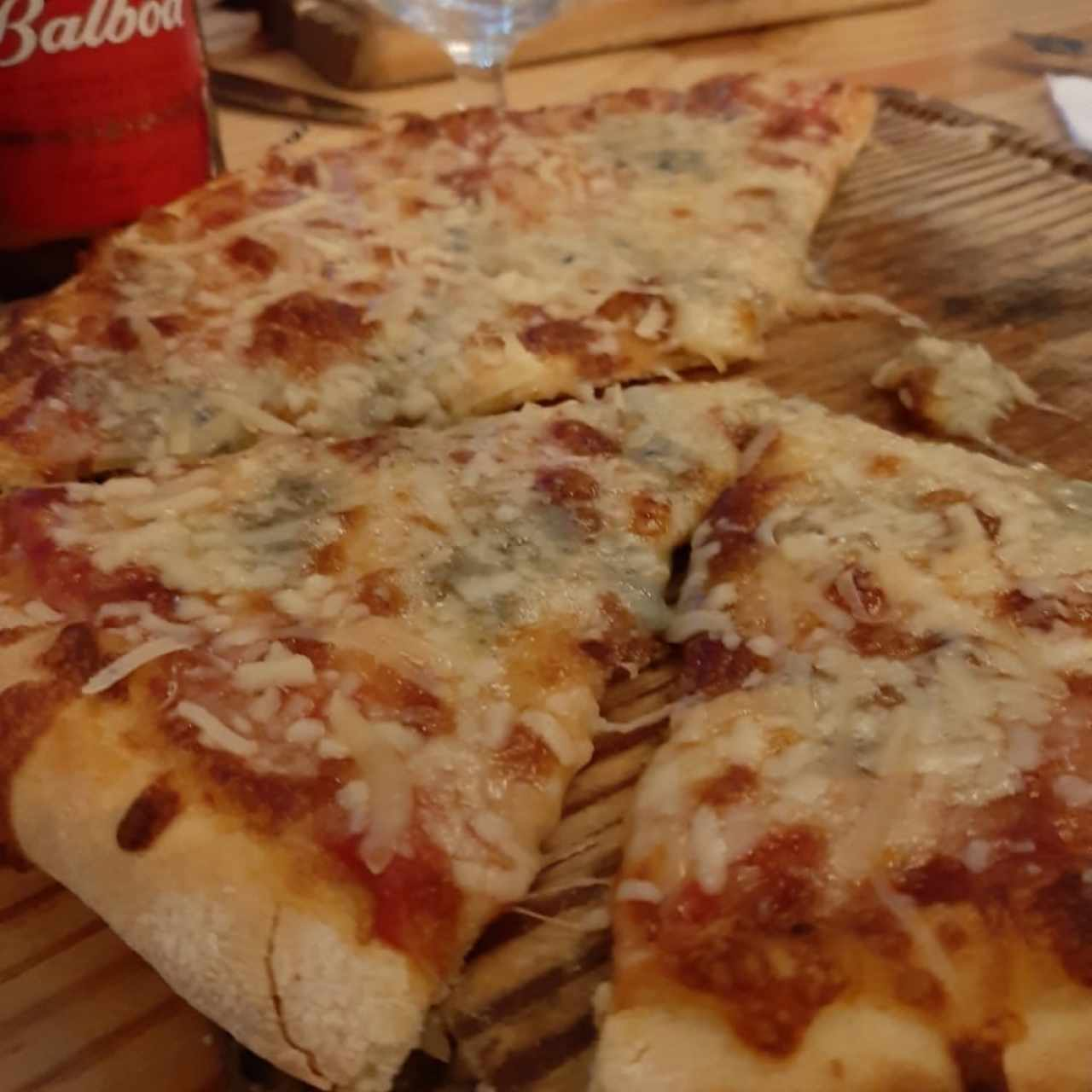 Pizza 4 Quesos, Fabulosa!