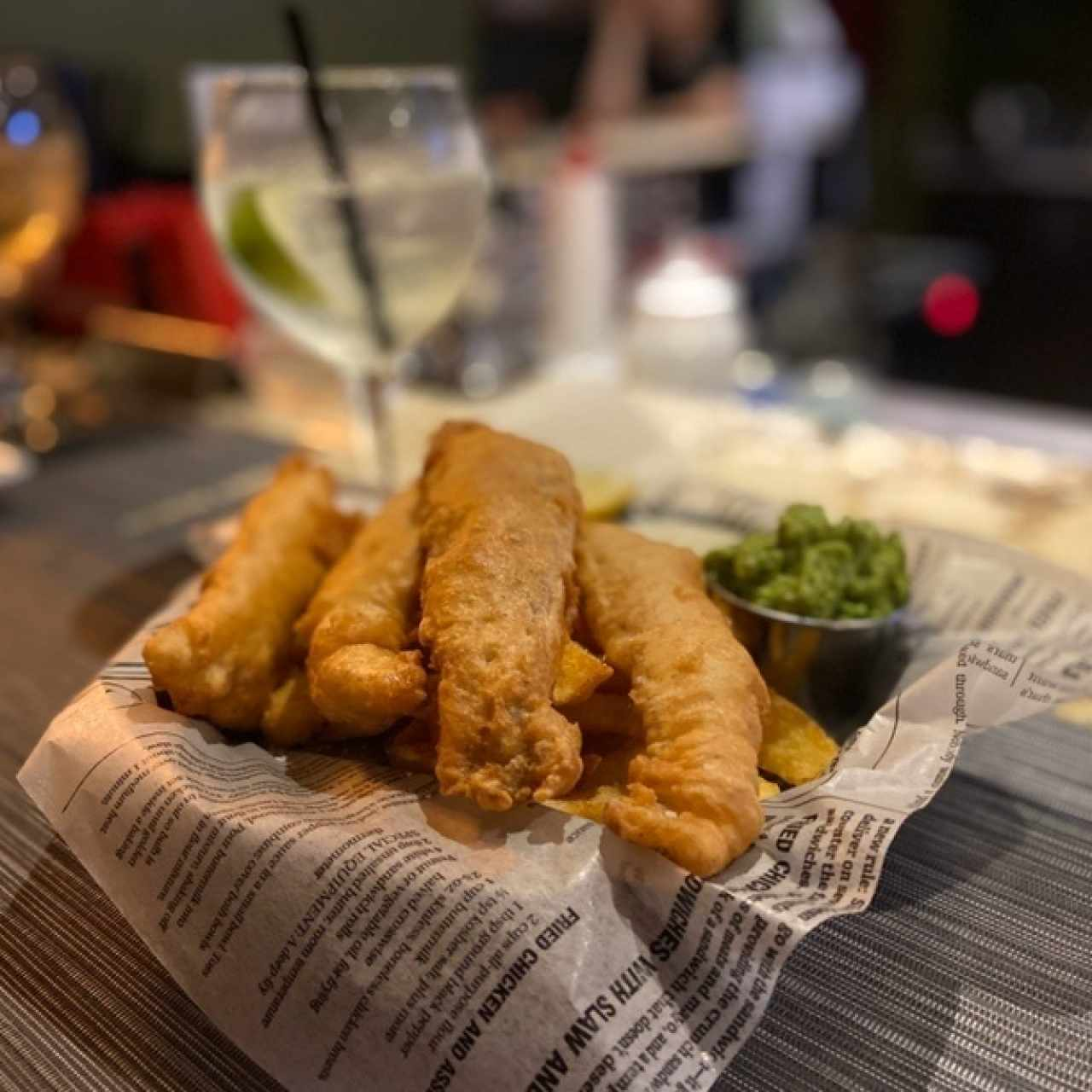 Platos fuertes - Fish and chips Gluten Free