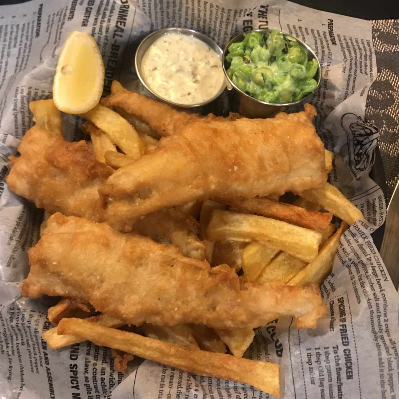 Platos fuertes - Fish and chips