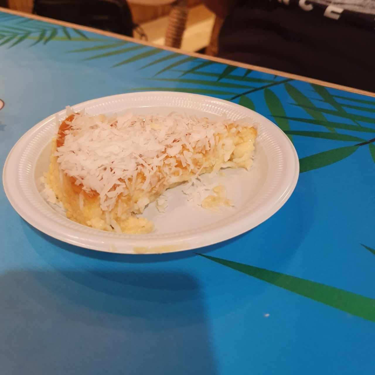 Quesillo de coco