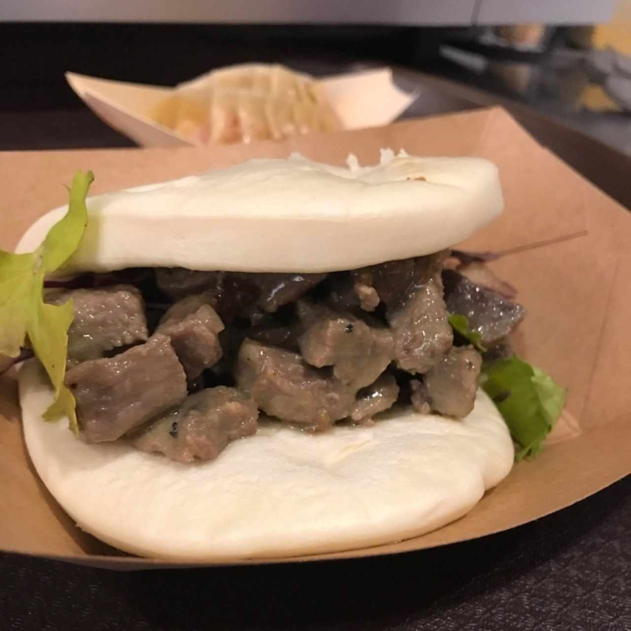 Bao Buns - Beef Green Curry