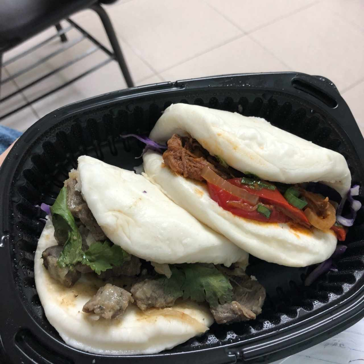 Bao Buns - Beef Green Curry y El Panameño