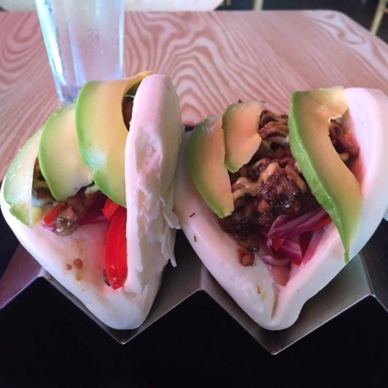 Pork belly bao, exquisítos!