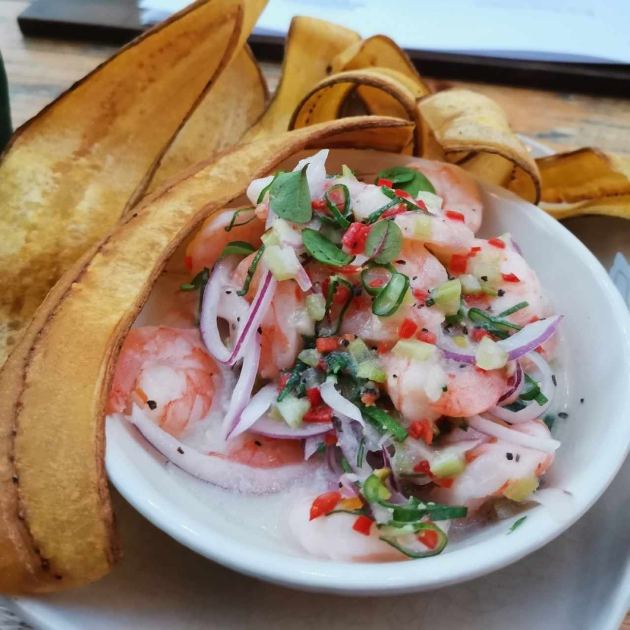 SMALL PLATES - Shrimp Ceviche