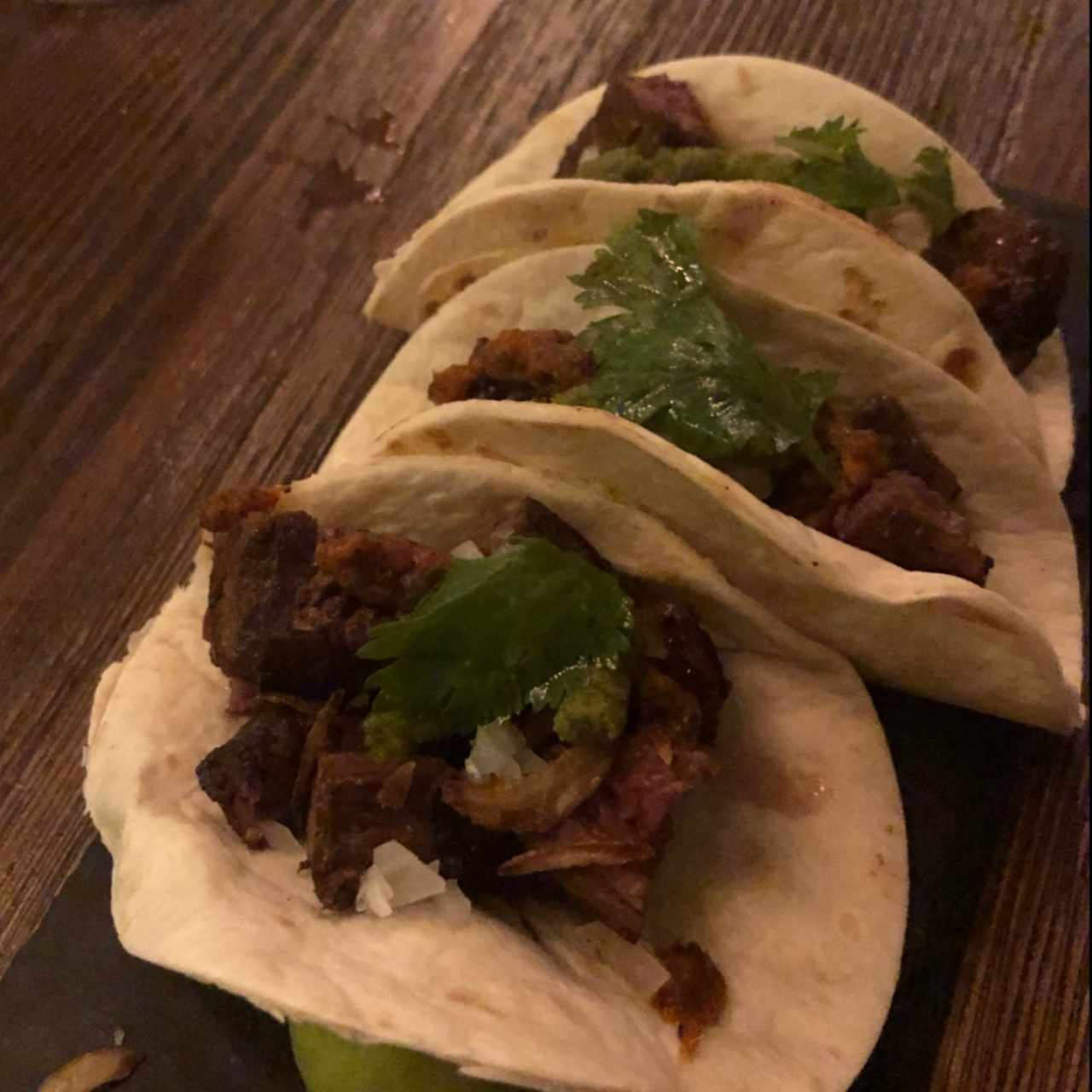 SMALL PLATES - Skirt Steak Tacos